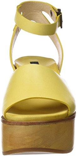 Neosens S507, Sandali con Plateau Donna Giallo (Ceylon Yellow)
