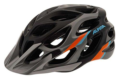 Alpina MYTHOS 2.0 L.E. hochwertiger Fahrradhelm verschiedene Farben Modell 2016, Größe:52-57cm;Farbe:darksilver-blue-orange