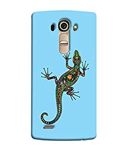 PrintVisa Designer Back Case Cover for LG G4 :: LG G4 Dual LTE :: LG G4 H818P H818N :: LG G4 H815 H815TR H815T H815P H812 H810 H811 LS991 VS986 US991 (Lizard Insects Crawlers Cockroaches)