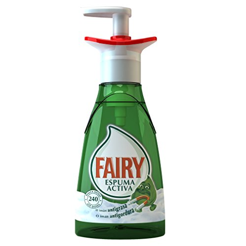 Fairy Espuma Activa - Lavavajillas, pack de 3x 375ml (Total 1125 ml)