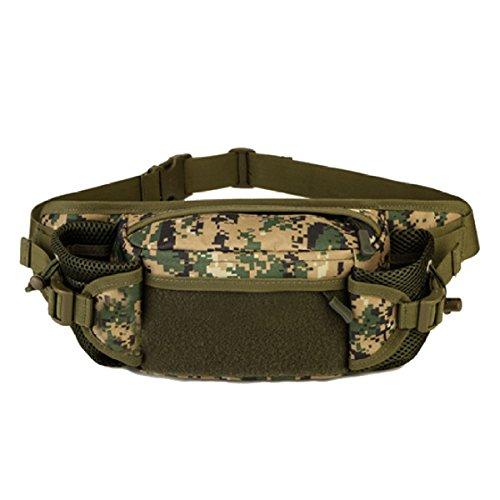 Multifunktionale Outdoor Fitness Sport Taille Taschen Mehrfarbig Camouflage
