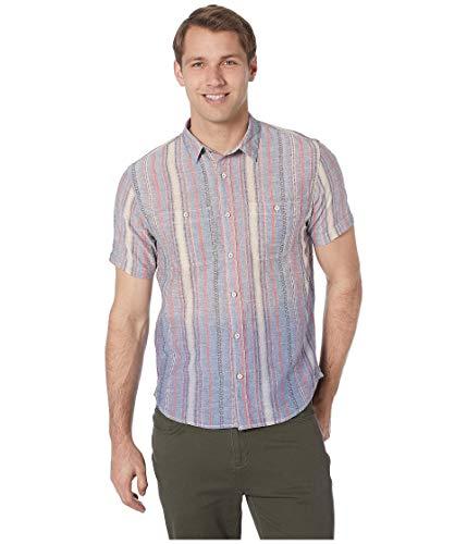 Leinen Woven Shirt (True Grit Men's South Seas Serape Short Sleeve Woven Shirt)