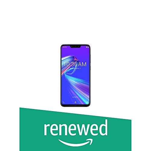 (Renewed) Asus ZenFone Max M2 (Black, 64 GB) (4 GB RAM)