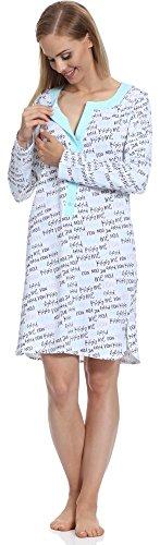 Merry Style Pyjama Femme 781 Turquoise-3A