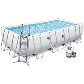 Bestway Power Steel Rectangular Swimming Pool Set 14812