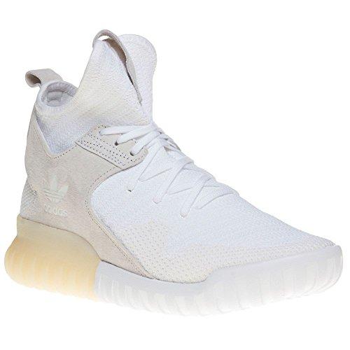 adidas Tubular X Primeknit White White Vintage White