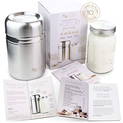 Stainless Steel Yoghurt Maker wi...