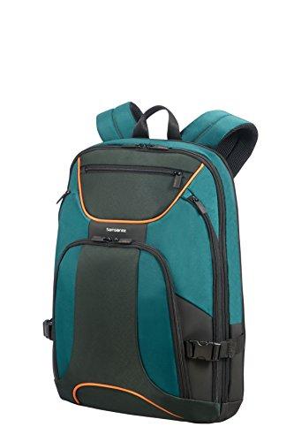 Samsonite Lapt. Backpack 17.3' (Green/Dark Green) -Kleur Rucksack, Green/Dark Green