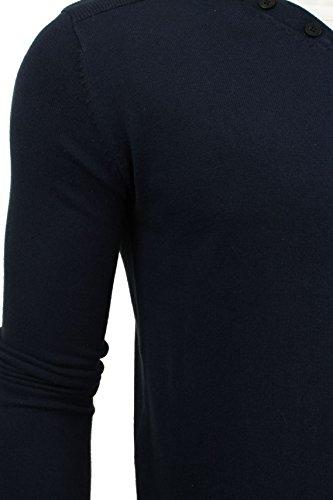 Pull à manches longues 'Balustrade' par Smith & Jones pour homme Marine Blazer