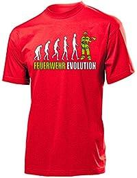 FEUERWEHRMANN - FEUERWEHR EVOLUTION - Cooles Fun T-Shirt Herren S-XXL