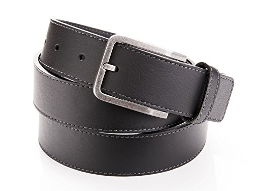 leather-belt-with-metal-buckle-for-men-by-danny-p-44-112-cm-black-stitched-edges