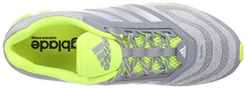 adidas Springblade Drive 2.0, Chaussures de course homme Gris - Grau (Grey/Silver Met./Solar Yellow)