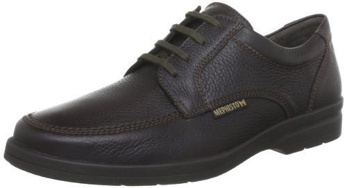 Mephisto JANEIRO NATURAL 7251 DARK BROWN, Scarpe stringate uomo, Braun (DARK BROWN NATURAL 7251), 44