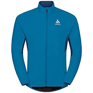 Odlo Herren Jacket Aeolus Element WARM Jacke, Blue Jewel-Poseidon, XL