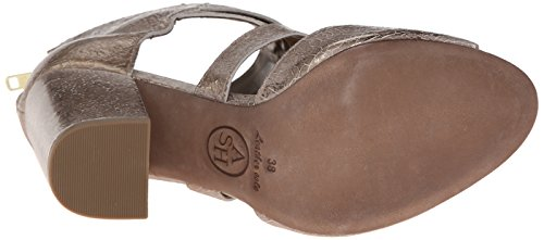 Ash Obsession Cuir Sandales Gold-Topo