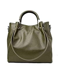 SLB Works Ranyue Genuinue Leather Bags for Women Shoulder Messenger Bags  Luxury Brand Lad e81144a602