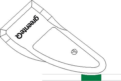 greenteQ Fugenglätter Silikonglätter Silikonspachtel Fugenabzieher
