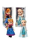 Bambola Giochi Preziosi Anna e Elsa 35 centimetri assortite Frozen 40000
