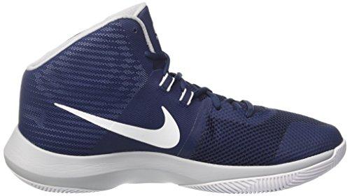 Nike Air Precision, Scarpe da Basket Uomo Blu (Midnight Navywhitewolf Grey)