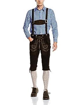 Herren Trachten Lederhose Oktoberfest Lederhose Kniebund Lederhose