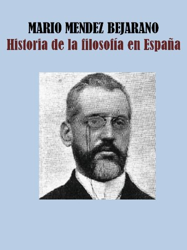 HISTORIA DE LA FILOSOFÍA EN ESPAÑA