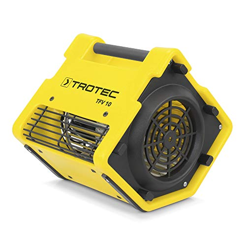 TROTEC Ventilatore turbo TFV 10, Ventilatori radiali trasportabile/impilabile, IP22