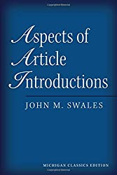 Aspects of Article Introductions: Michigan Classics Edition