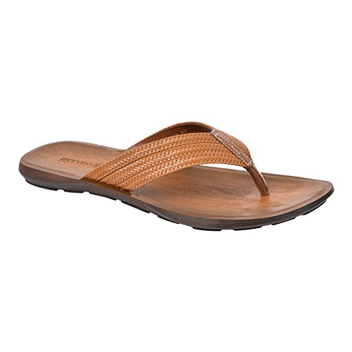 INBLU Mens Sandal for Formal and Casual use | Colour Tan | Flat Design Sandal for Men | Sandal for Office use | Size 7 to 10 inch – PU Sole Chappal Outdoor use – chapal for Gents and Boys