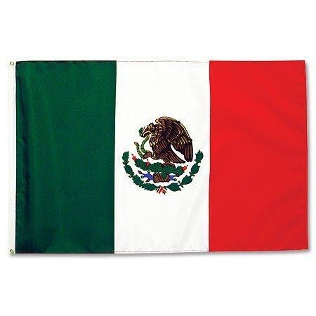 Mexiko Fahne groß - eine Größe