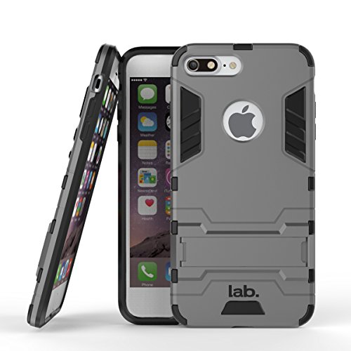 iPhone 7 Plus slim back case cover matte finish labrador iphone 7 plus cases and covers (Grey)