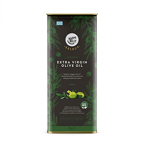 Amazon-Marke: Happy Belly Select Bio natives  Olivenöl extra, 5L