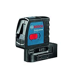 Bosch Linienlaser GLL 2-15, mit Multifunktionshalterung 0601063701