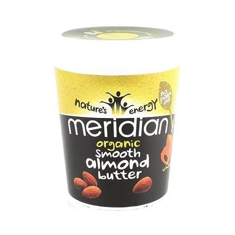 Meridian Foods - Organic Glatt Almond Butter 100% 454g