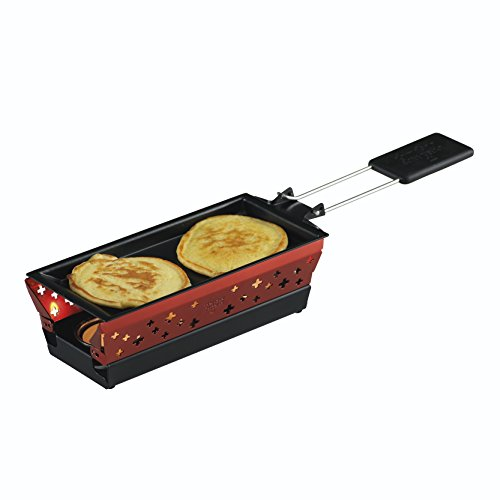 kuhn rikon 32108 mini candle light raclette set red uk appliances direct. Black Bedroom Furniture Sets. Home Design Ideas