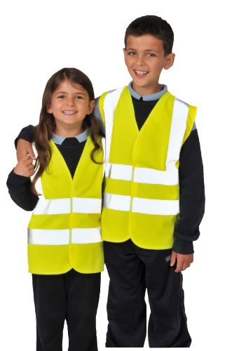 RTY Mens High Visibility Safety Kids Childrens Junior Vest Waistcoat