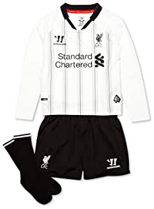Warrior Kids LFC Liverpool 2013 2014 Home Goalkeepers Infant Replica Set - Anthracite/White, 18 Months - 2 Years