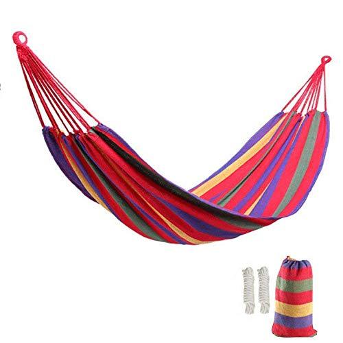 """Lovebay Outdoor Indoor Hängematte xxl für kinder Camping Garten 250 kg Tragfähigkeit 110\""""x 60\"""" (Rot)"""