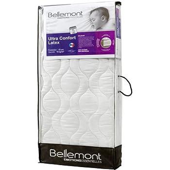 Bellemont Matelas Ultra confort Latex 70 X 140 cm Épais 13 cm