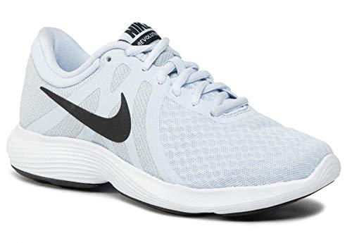 Nike Damen Women\'s Revolution 4 Running Shoe (eu) Traillaufschuhe, Blau (Half Blue/Black-Wolf Grey-White 407), 40