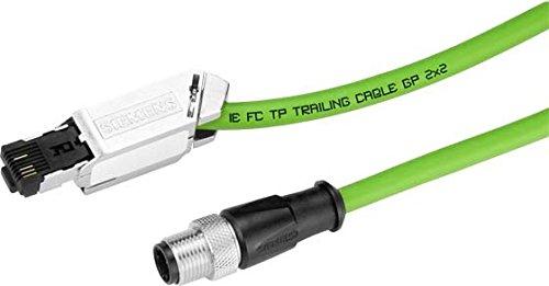 SIEMENS SIMATIC NET - CABLE IE M12-180/IE FC RJ45 PLUG-145 10M