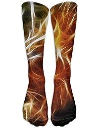 Men&Women 3d Lion King Rastafarian Designs Crew Socks Warm Over Boots Stocking Trendy Long Socks