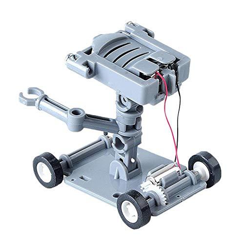 Clevoers Salzwasser-Roboter-Kit zum Zusammenbauen von Spielzeug für Kinder, Lernspielzeug, Geschenk