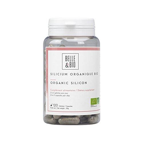 Schöne und Bio–Organisches Silizium Bio–120Kapseln