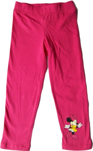Disney Minnie Maus Leggings mit Motiv - Glitzernde Minnie - Pink