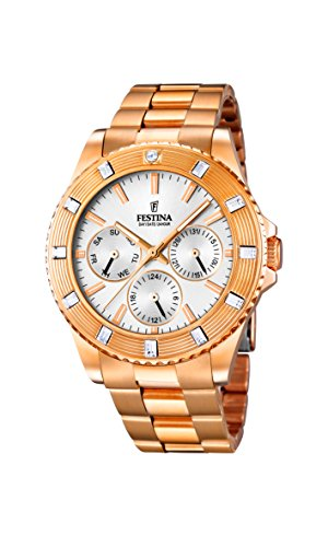 Festina Ladies Watch Stainless Steel Analog Quartz F16789/1