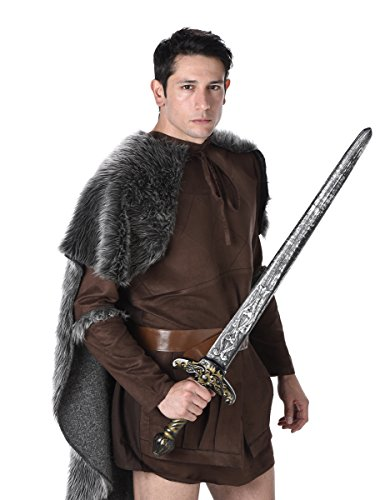 Imagen de disfraz de príncipe vikingo hombre alternativa