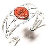 jewels paradise Pulsera de Plata de Ley 925 chapada en Plata de Ley 925 con...