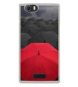 Umbrellas 2D Hard Polycarbonate Designer Back Case Cover for Micromax Canvas Nitro 2 E311