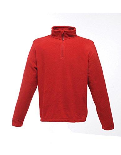 Neck Fleece Pullover (Regatta Micro Zip Neck große Fleece–Dark Navy)