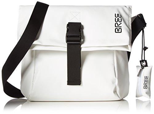 BREE Damen Punch 98 Umhängetaschen, 35x28x12 cm Mehrfarbig (white/black 508)